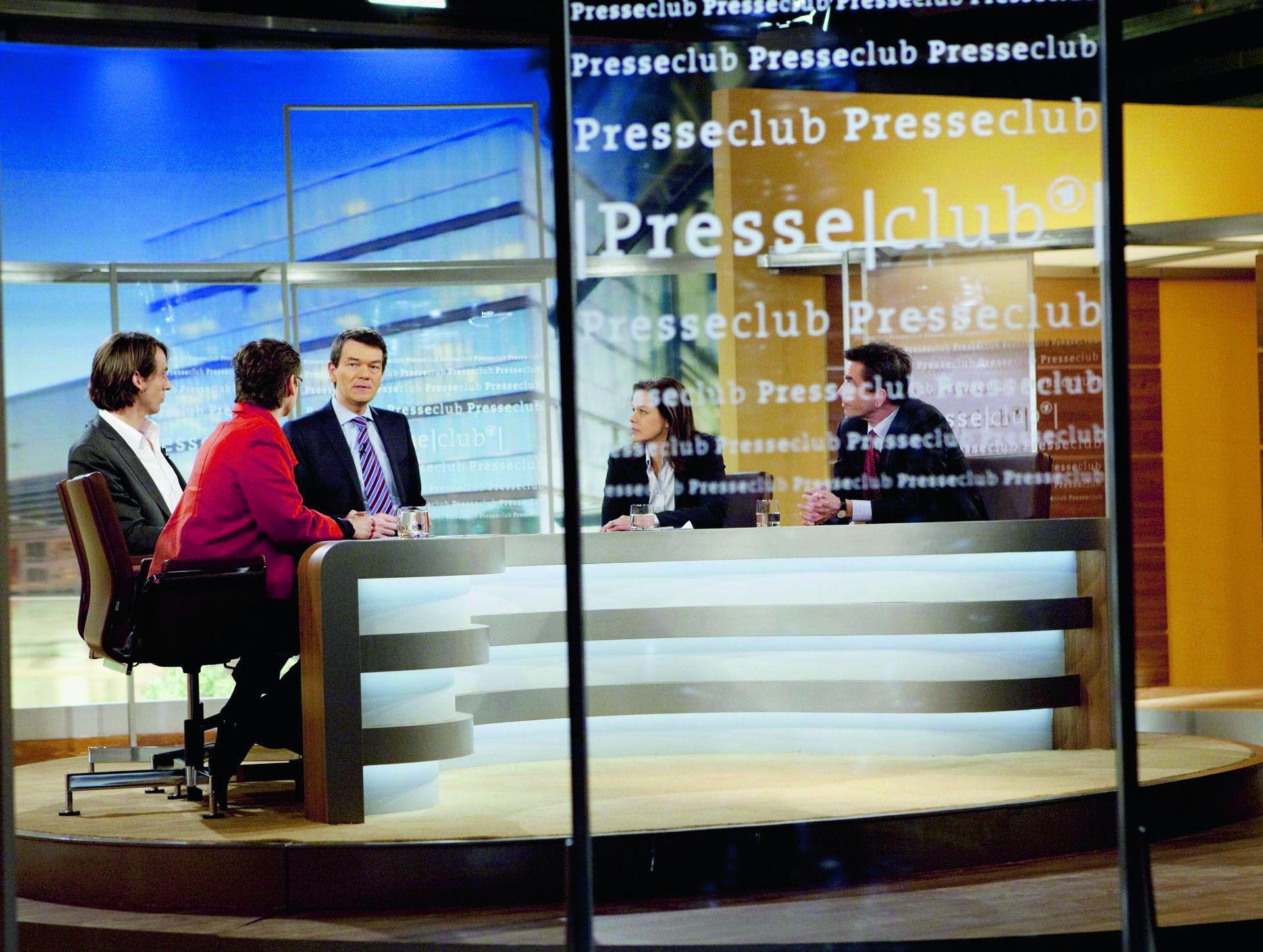 Der Presseclub sendet immer sonntags, Foto: WDR