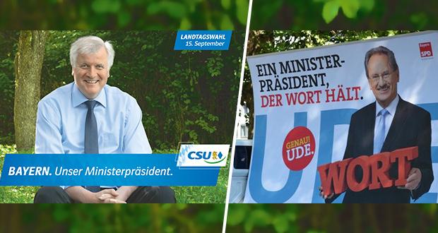 Fotos: CSU, SPD Bayern