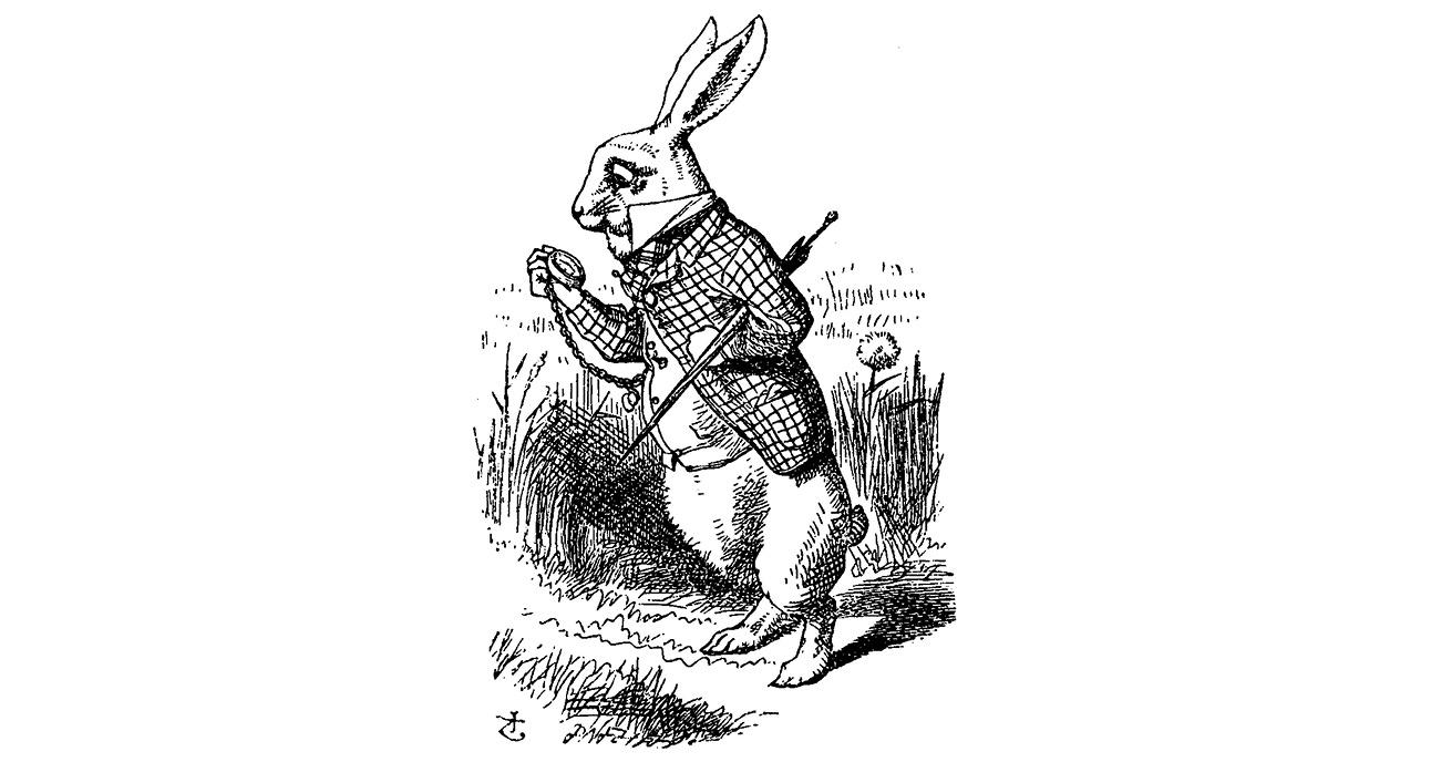 Illustration: John Tenniel/Alice's Adventures in Wonderland, 1865