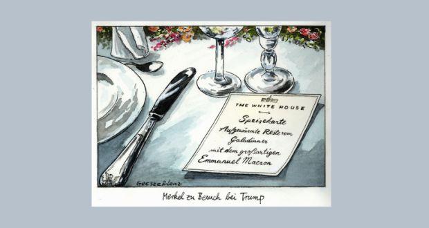 Karikatur: Greser & Lenz