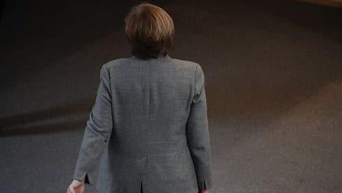 Sie geht, aber etwas bleibt: der Politikertypus, den sie etabliert hat. (c) picture alliance/dpa/Michael Kappeler